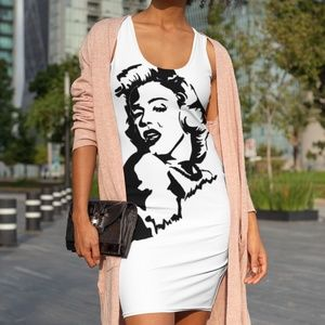 Marilyn Monroe Diamonds Tank Dress